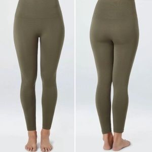 Spanx Look at Me Now Seamless Leggings Olive XL